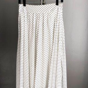 Dresses & Skirts - Polka dots philosophy chiffon / maxi skirt